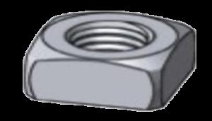 Square Nut 300x171 - Standard Fasteners